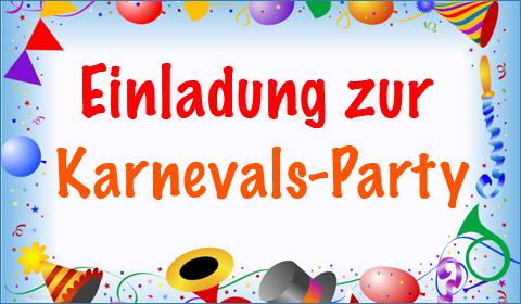 Karneval, E Cards, Kölle Alaaf, Fasching, Versende Grusskarte 116, Einladung