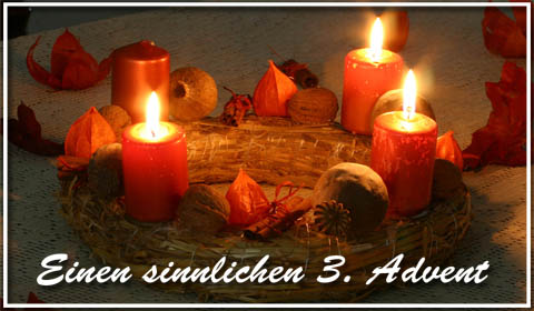Adventsgrüße, Adventskarten, Grußkarten Advent E-Cards, Versende Grusskarte 178