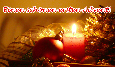 Adventsgrüße, Adventskarten, Grußkarten Advent E-Cards, Versende Grusskarte 203