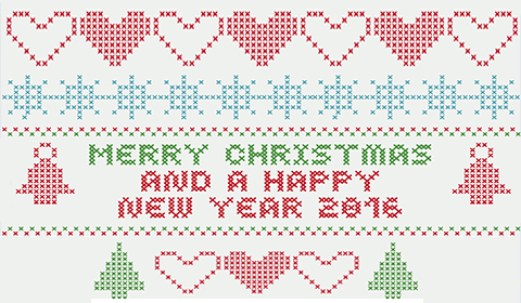 Merry Christmas and a happy new year 2016!
