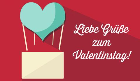 Liebe Grüße Zum Valentinstag!