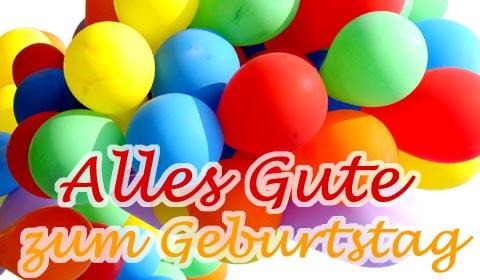 Открытка поздравительная на немецком языке 60